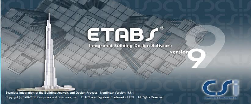 تنظیمات تنظیمات آماده etabs + راهنما