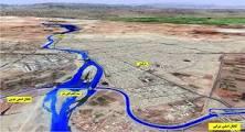 مسیریابی جریان آب در شبكههای نامنظم