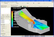 شبیه سازی سه بعدی عددی آبشستگی حول سری آب شکن های L شکل با دبی های مختلف به وسیله نرم افزار SSIIM