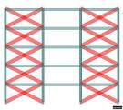 50-بررسی عملكرد لرزه ای قابهای فولادی دارای اتصال تیر با جان شكافدار