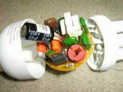 آموزش تعمير لامپ کم مصرف