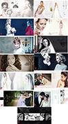 دانلود 13 طرح لایه باز آلبوم عکس عروسی سایز 30*60