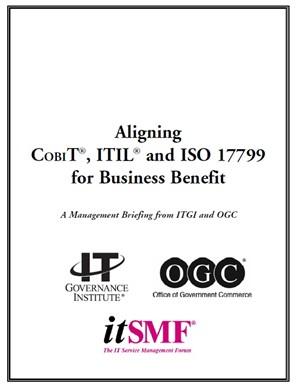 كتاب معروف Aligning COBIT, ITIL and ISO 17799 براي دانشجويان و دست اندركاران حوزه مديريت فناوري اطلاعات به زبان اصلي