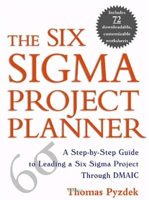 برترين كتاب پياده سازي گام به گام پروژه هاي 6 سيگما - زبان اصلي - مرجعي مناسب براي مهندسي صنايع و كليه علاقه مندان به موضوع مديريت كيفيت و شش سيگما