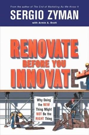 "كتاب صوتي "" نوآوري در بازاريابي "" با فرمت MP3 برگرفته از كتاب معروف Renovate Befor you Innovate"