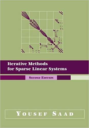 چند برنامه جبر خطی عددی با MATLAB از کتاب روشهای تکراری Yousef Saad