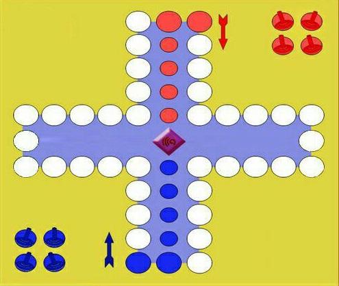 بازی منچ در قالب کلاس