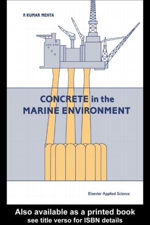 بتن در محیط زیست دریایی