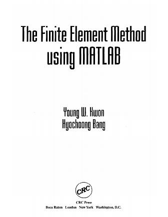 روش اجزاء محدود با استفاده از MATLAB