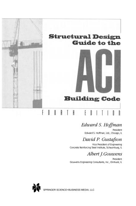 راهنمای طراحی سازه به کد ساختمان ACI