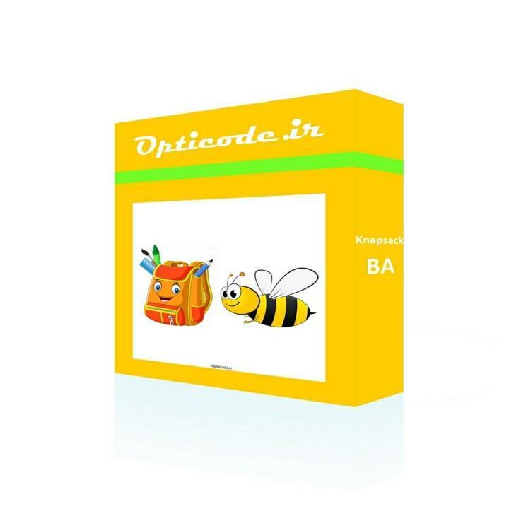 کد الگوریتم زنبور عسل مسئله کوله پشتی