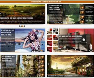 اسلایدشو زیبای BT Slideshow Pro برای جوملا 3.0