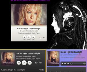 موزیک پلیر حرفه ای جوملا Vina HTML5 Audio Player