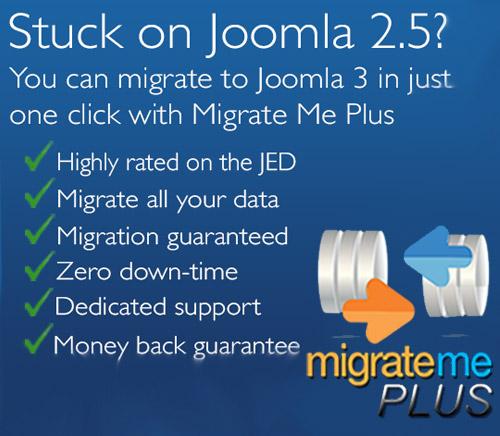 ارتقاء جوملا 2.5 به جوملا 3 با Migrate Me Plus