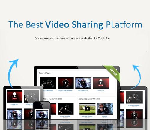 ایجاد سایتی شبیه به آپارات و یوتیوب در جوملا با Joomvideos