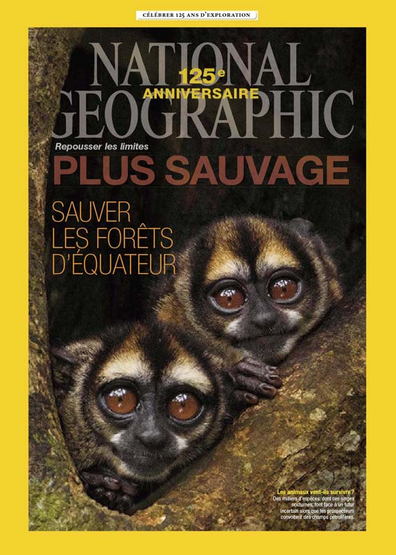 NATIONAL GEOGRAPHIC FRENCH 125