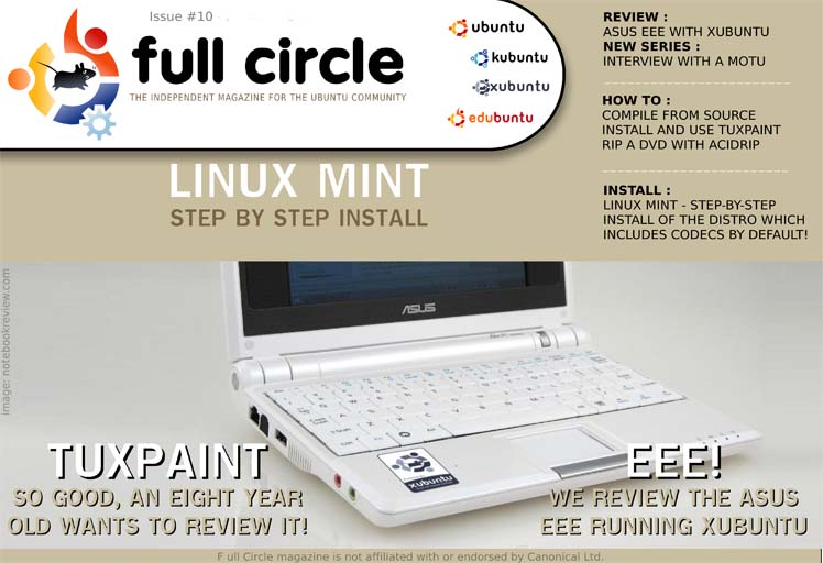 ISSUE 10 FULL CIRCLE