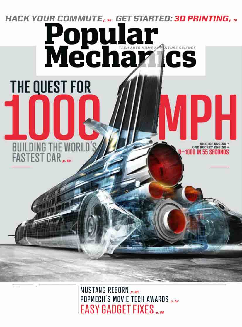 POPULAR  MECHANICS usa