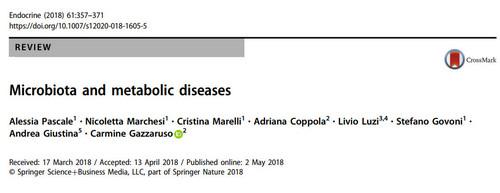 میکروبیوتا و بیماریهای متابولیک