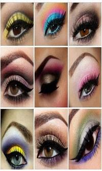 دانلود نرم افزار موبایل آرایش چشم،آرایش ابرو،آرایش مژه وپلک