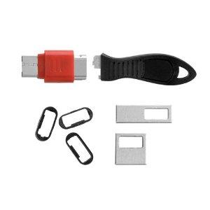 طراحي قفل سخت افزاري براي پورت هاي سريال-موازي و USB