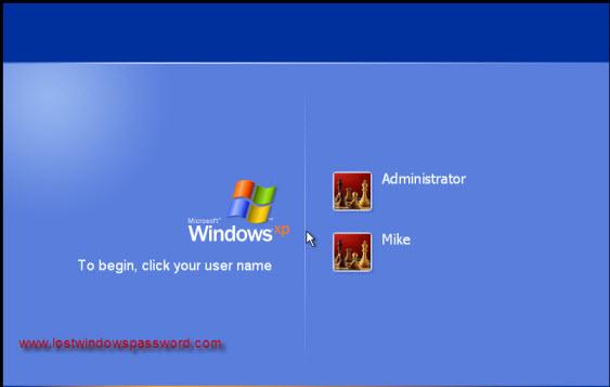 دو راه براي عبور از پسورد ويندوز xp بدون نياز به نرم افزار