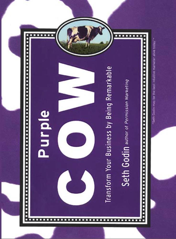 کتاب برندسازی گاو بنفش: ویژه علاقمندان به بازاریابی و برندسازی