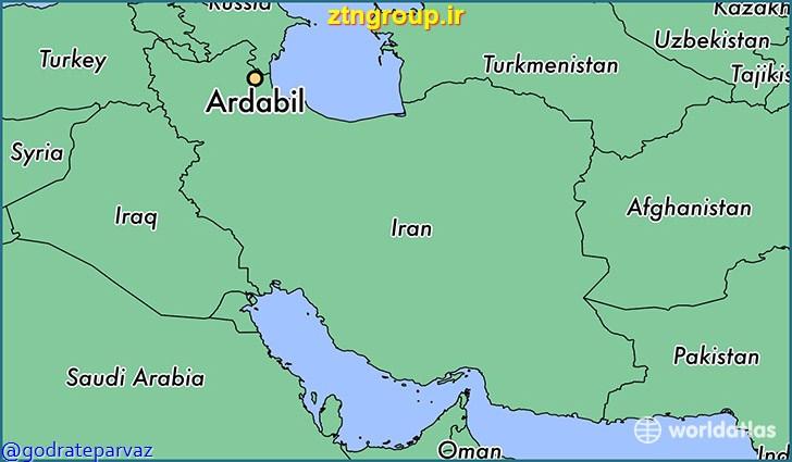 دانلود فرهنگ جغرافيايي اردبيل (دايره المعارف  اردبيل)