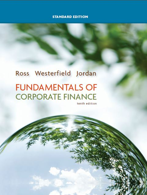 کتاب بورسی FUNDAMENTALS OF CORPORATE FINANCE