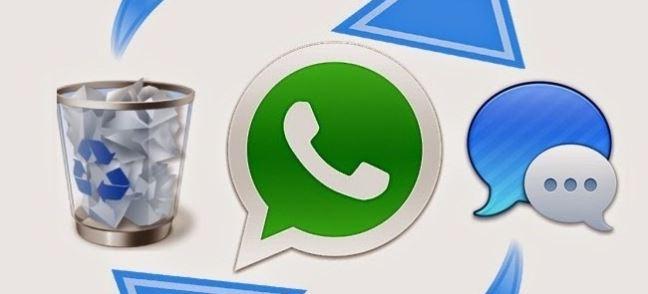 ۲ روش برگرداندن و بازیابی اطلاعات، عکس و پیام های حذف شده در واتساپ
