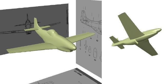 طراحی و مدلسازی بدنه هواپیما در نرم افزار CATIA