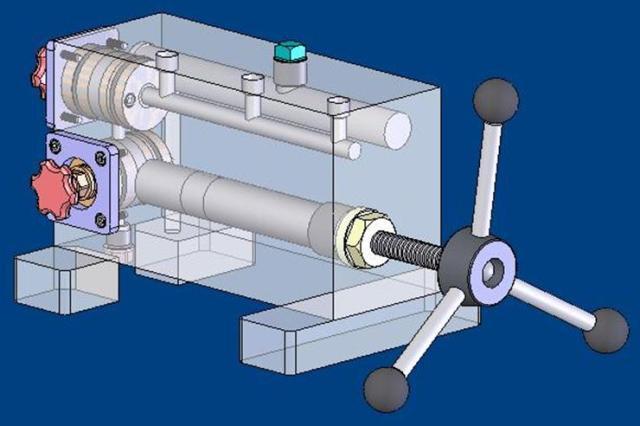 طراحی دستگاه مولـد فشار و خلاء