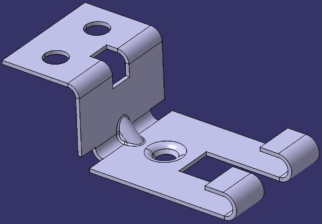 طراحی و مدلسازی قطعه ورق در CATIA Sheet Metal Design