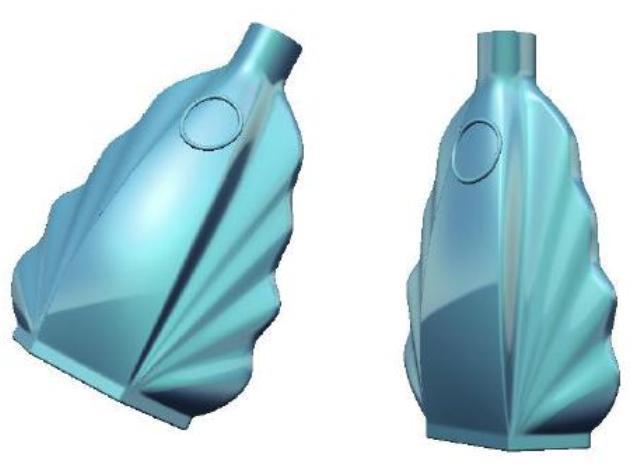 طراحی و مدلسازی شیشه عطر در CATIA Shape Design
