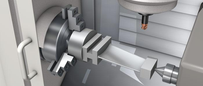 ماشینکاری پره های توربین با ماشین CNC