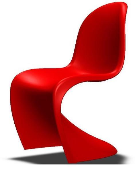طراحی و مدلسازی صندلی پانتون در نرم افزار SolidWorks