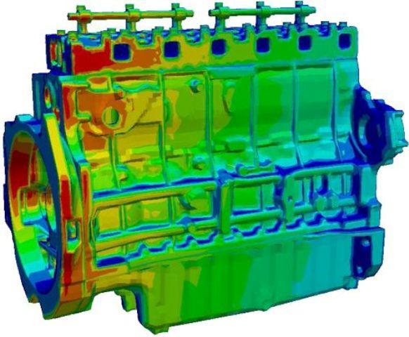 شبیه سازی احتراق موتور دیزل با مدل Eddy Dissipation در نرم افزار ANSYS