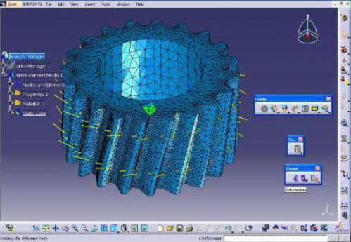 طراحی، مدلسازی، سطح سازی، آنالیز و تحلیل در نرم افزار CATIA