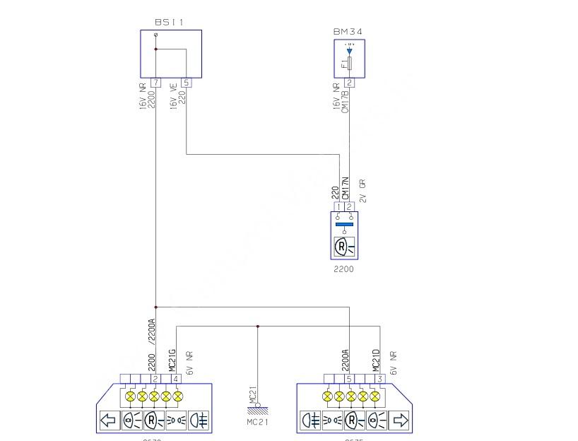 تحلیل نقشه های الکتریکی دنده عقب پژوه 206 مولتی پلکس ایرانی - گیربکس اتومات و گیربکس دستی