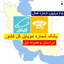 کامل ترین بانک شماره های موبایل همراه اول و ایرانسل به تفکیک استان و شهر+هدیه (بانک شماره کل کشور)