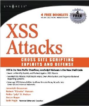 دانلود کتاب کمیاب XSS Attacks - Exploits and Defense