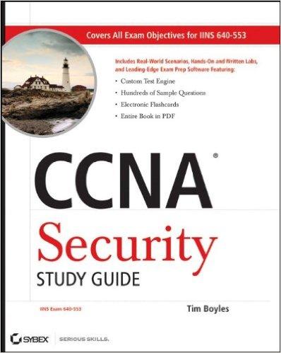 کتاب مرجع CCNA Security Study Guide Exam 640-5