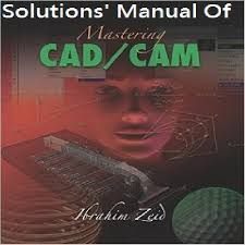 پاسخ تشریحی کتاب تسلط بر کد کم ابراهیم زید  Mastering CAD/CAM By Ibrahim Zeid
