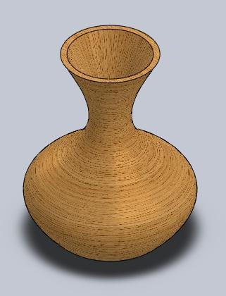 آموزش ساخت یک کوزه چوبی با ساده ترین روش در سالیدورکز