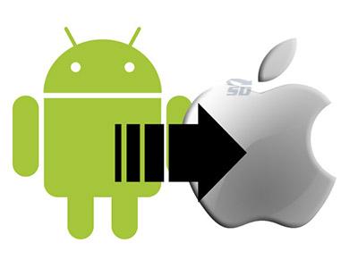 آموزش انتقال اطلاعات از Android به iOS با Move to iOS(اختصاصی پرامیس شاپ)