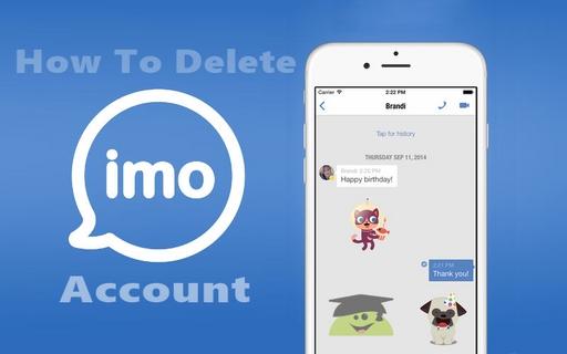 آموزش کامل حذف اکانت ایمو imo + تصاویر(اختصاصی پرامیس شاپ)