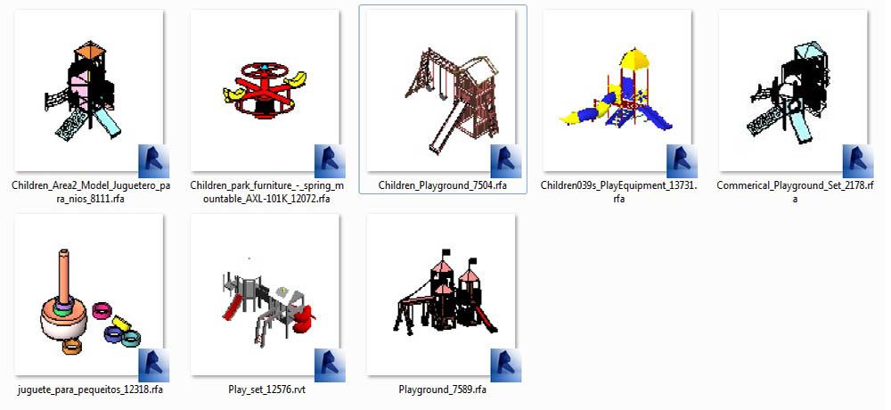 آبجکت  رویت وسایل بازی کودکان
