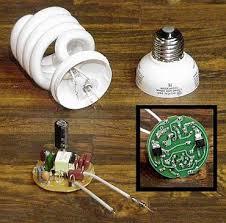کتاب آموزش تعمیر لامپ کم مصرف