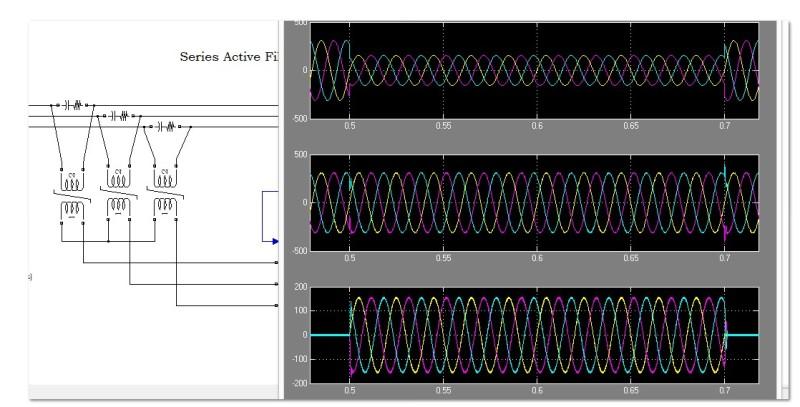 دانلود شبیه سازی فیلتر اکتیو سری در نرم افزار متلب
