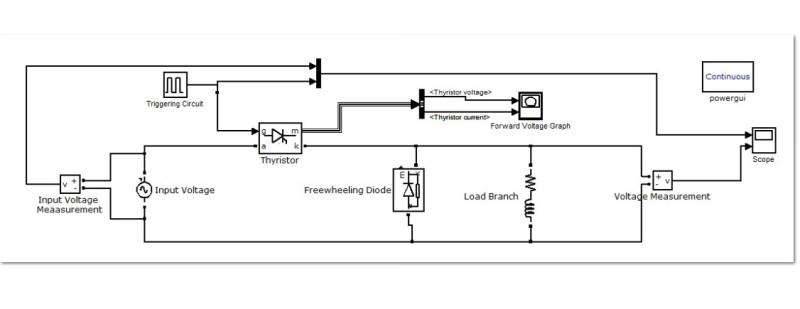 دانلود شبیه سازی تریستور در متلب